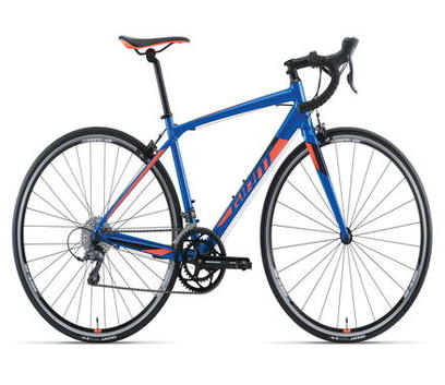 2017 GIANT CONTEND 2 BLUE ORANGE 1